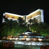 Photo taken at The Mirage Hotel & Casino by Dominick M. on 10/12/2012