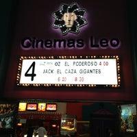 Photo taken at Cinemas Leo by Karen G. on 3/31/2013