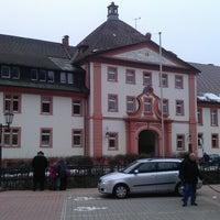 Photo taken at Sankt Blasien by Emilio V. on 3/29/2013