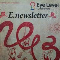 Photo taken at Eye level by Sharon O. on 2/26/2013