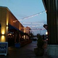 Photo taken at Kent Station Plaza by Jeremy G. on 3/11/2016