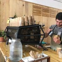 7/31/2018 tarihinde Jun W.ziyaretçi tarafından Syra Coffee'de çekilen fotoğraf