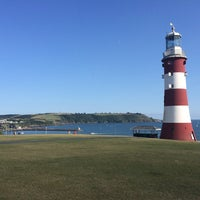 Photo taken at Plymouth Hoe by Mark P. on 8/4/2014