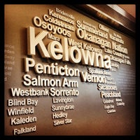 Photo taken at Kelowna International Airport (YLW) by Allison M. on 8/9/2013