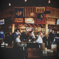 Photo taken at Four Peaks Grill & Tap by Jamie S. on 11/21/2012