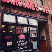 Photo taken at Sarcone's Deli by Jamie S. on 6/14/2013