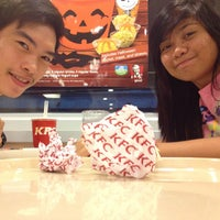 Photo taken at KFC Lucena town proper by ザンダー ロ. on 10/31/2013