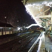 Photo taken at Stanhope Railway Station (WR) by Drew S. on 12/21/2013