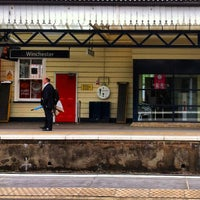 Photo taken at Winchester Railway Station (WIN) by Víctor Manuel M. on 5/12/2013
