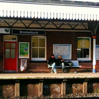 Photo taken at Brockenhurst Railway Station (BCU) by Víctor Manuel M. on 12/27/2012