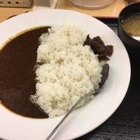 Photo taken at Matsuya by にゃろう 猫. on 2/24/2017