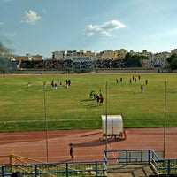 Photo taken at Δημοτικό Στάδιο Καλαμάτας by Vasilis D. on 9/14/2014