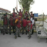 Photo taken at Kodex Paintball by Bahri G. on 6/10/2016