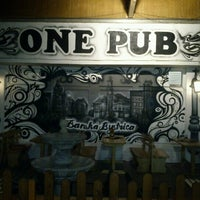 Photo taken at ONE PUB by Mrk H. on 9/21/2012