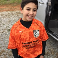 Photo taken at Lawrence county Soccer field by Thomas B. on 10/31/2015