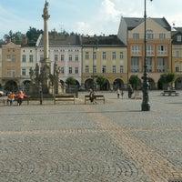 Photo taken at Krakonošovo náměstí by Marek L. on 9/16/2016