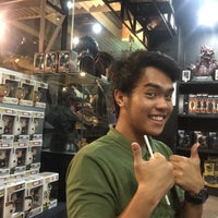 Photo taken at Heroes Hobby Lounge By Maxicollector by Zee E. on 4/7/2015