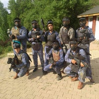 Photo taken at vadi paintball by Hakan M. on 6/14/2015