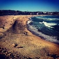 Photo taken at Bondi Beach by Öncüm Y. on 7/6/2013