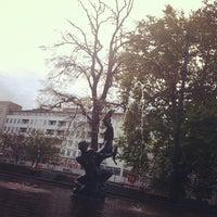 Photo taken at Gustav Adolfs torg (B) by Peter J O. on 10/30/2012