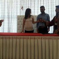 Photo taken at Kadirli Belediyesi Nikah Salonu by HAzel A. on 8/9/2016