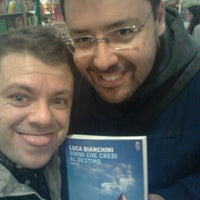 Photo taken at The Italian Bookshop by Francesco V. on 5/16/2015
