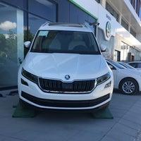Photo taken at Škoda Efe Motorlu Araçlar by Cenk B. on 5/15/2017