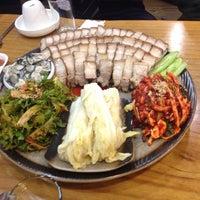 Photo taken at 장비빔국수와 편육 by Caesar U. on 3/11/2014