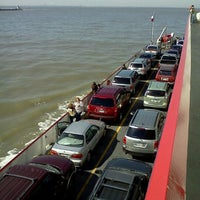 Photo taken at Galveston - Bolivar Ferry by Rae A. on 11/17/2012
