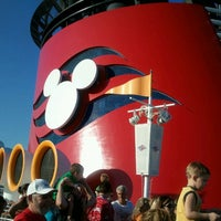 Photo taken at Disney Wonder by Rae A. on 1/28/2013