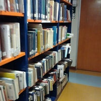 Photo taken at Biblioteca Central - PUCP by Vanessa Y. on 11/19/2012