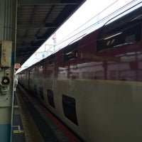 Photo taken at 松江駅 3-4番ホーム by うるし@groovy on 6/25/2016