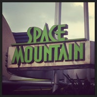 Photo taken at Space Mountain by Christopher S. on 4/14/2013