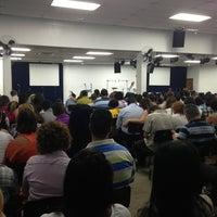 Photo taken at Igreja Batista Menorah by Fernanda R. on 5/5/2013