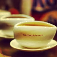 Photo taken at The Chocolate Room by Pratik D. on 3/19/2014