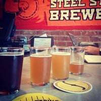 Photo taken at Steel String Brewery by Jon O. on 4/27/2013