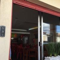 Photo taken at Restaurante Luna Azul by Mariana O. on 3/28/2016