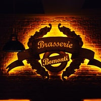 Photo taken at Brasserie Bomonti by Sevil . on 4/18/2014