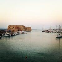 Photo taken at Port of Heraklion by Makis K. on 7/8/2013