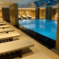 Photo taken at Retaj Royale Hotel - Four Elements Spa & Wellness by Aydın C. on 6/1/2013