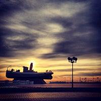 Photo taken at Катер «Герой» by Roman K. on 5/8/2013