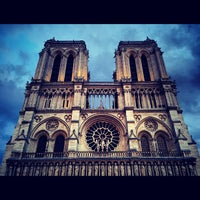Photo taken at Cathedral of Notre Dame de Paris by Roman K. on 5/28/2013