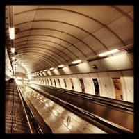 Photo taken at Metro =A= =B= Můstek by Nikushka Z. on 10/12/2012
