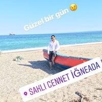Photo taken at İğneada Plajı by Ali Erkan P. on 6/12/2018