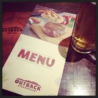 Photo taken at Outback Steakhouse by Daniel S. on 5/4/2013