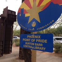 Photo taken at Phoenix Public Library - Burton Barr Central Library by Marybeth G. on 7/11/2013
