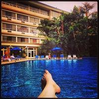 Foto tomada en Hotel Westin Camino Real por Haley F. el 4/19/2013
