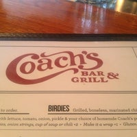 Photo taken at Coach's Bar & Grill by Burton K. on 4/4/2013