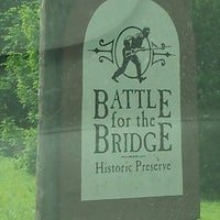Photo taken at Battle of the Bridge Historic Site by Ellen B. on 6/13/2014