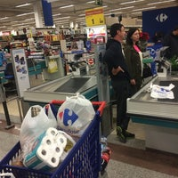 Photo taken at Carrefour by Artyom L. on 12/1/2014